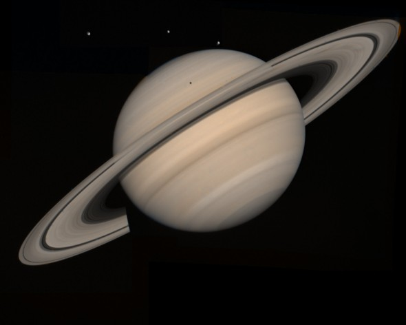 Saturn by Hubble